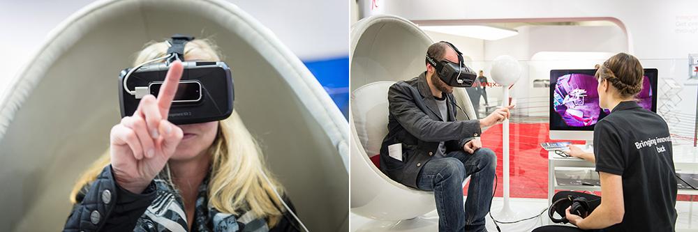 Besuchen Sie uns auf der IDS 2015 und entdecken Sie unsere Neuheiten wie nie zuvor – durch die bahnbrechende Technik der virtuellen Realität. (Foto © Robert F. Hausmann, www.eventfotografen.ch)