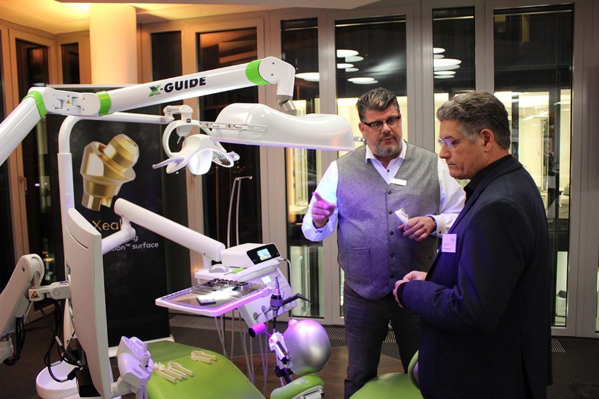 Bei der Eröffnung des neuen Nobel Biocare Dental Experience Center in Köln